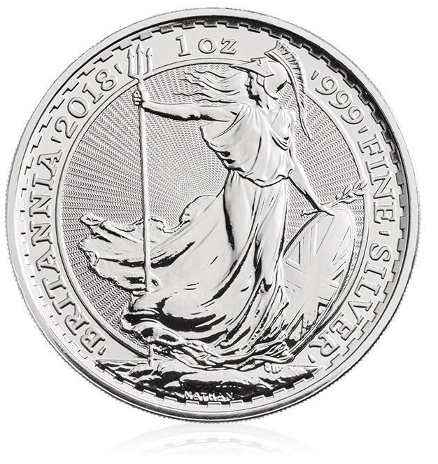 Silber Britannia 1oz