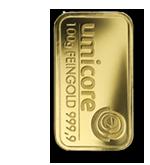 Goldbarren 100g Umicore