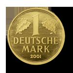 Goldmünze Goldmark 2001