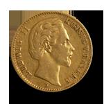 10 Mark Gold Ludwig von Bayern