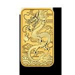 Drache Rectangular Gold
