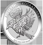 Silber Kookaburra 1oz 2018