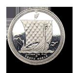 Platin Noble Münze 1/10 oz
