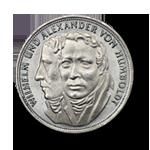 5 DM Silbermünze