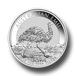 Silber Emu 1oz