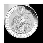 Silber Kookaburra2020 Reverse