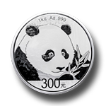Silber Panda 1kg 2018