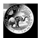 Somalia Elefant 1oz 2019