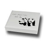 Schatulle Panda 1oz Silber